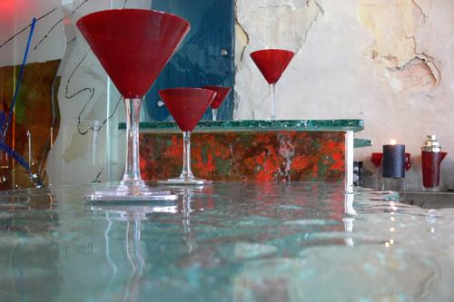 Glass Bar Tops